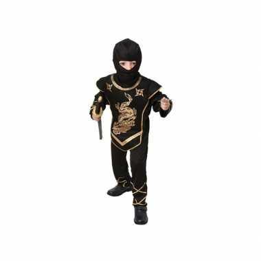 Zwart ninja foute kleding