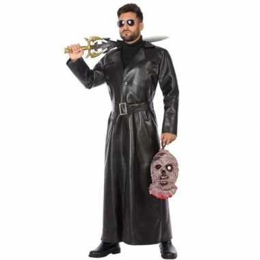 Zwart vampierjager foute kleding voor heren