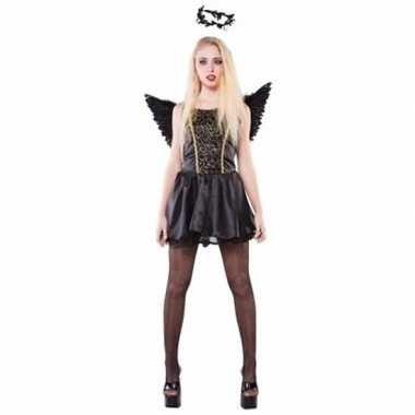 Zwarte engel dames foute kleding