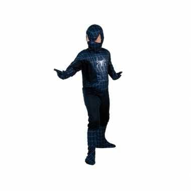 Zwarte spiderheld kinderfoute kleding