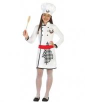Chef kok foute kleding jurk voor meisjes