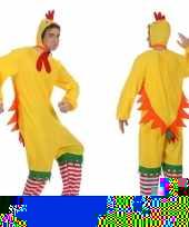 Dierenpak kip haan kuiken foute kleding voor volwassenen