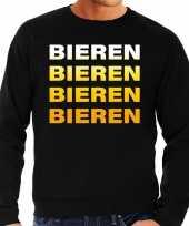 Foute bieren bieren bieren bieren sweater zwart voor heren kleding