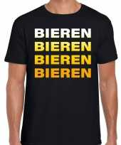 Foute bieren bieren bieren bieren t-shirt zwart voor heren kleding