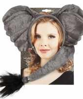 Foute dieren set elephant kleding