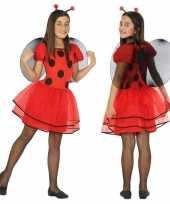 Foute dierenpak lieveheersbeestje jurk jurkje voor meisjes kleding