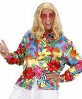 Foute fel gekleurd hippie shirt kleding
