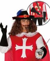 Foute kleding musketier accessoire volwassenen 10064667