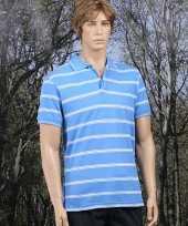 Foute polo milano in het blauw kleding