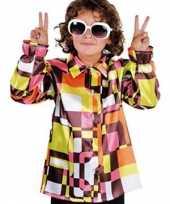 Foute retro kinder hemd gekleurd kleding