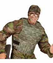 Kogelvrij leger camouflage vest foute kleding accessoire