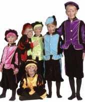 Luxe blauwe pieten foute kleding voor kinderen