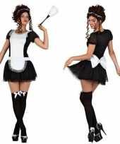 Sexy dienstmeisje foute kleding jurkje voor dames